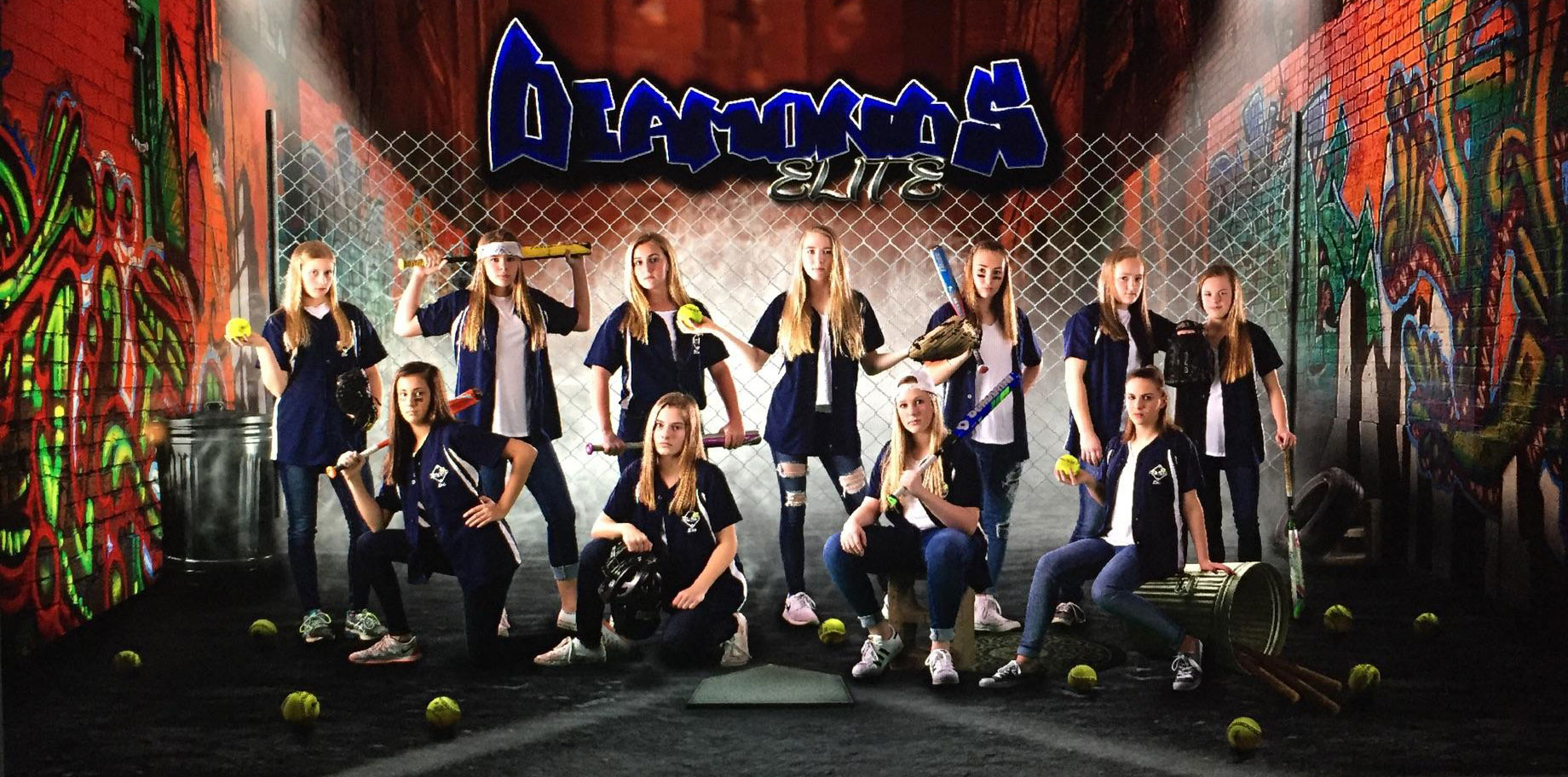 Diamonds Elite Softball